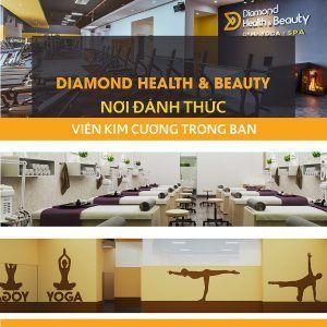 Spa Diamond Health & Beauty có cơ sở vật chất khang trang