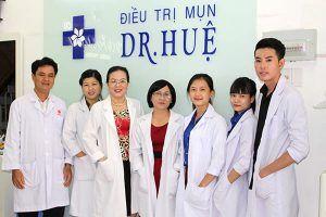Đội ngũ bác sĩ tại Dr Huệ