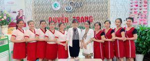Spa trị mụn ở Bình Tân Quyền Trang