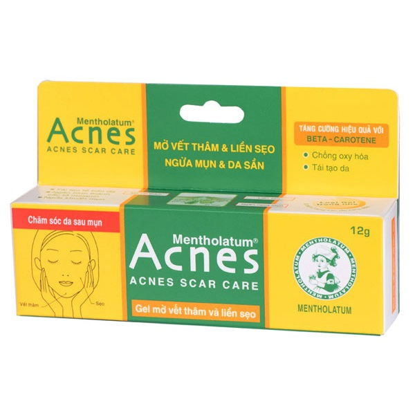 Acnes Scar Care - Kem trị mụn thâm hiệu quả