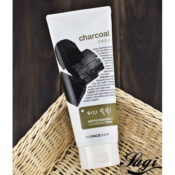 Charcoal - Sửa rửa mặt than hoạt tính tốt nhất hiện nay