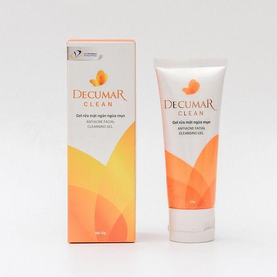Decumar Clean - Sửa rửa mặt nghệ tốt nhất hiện nay