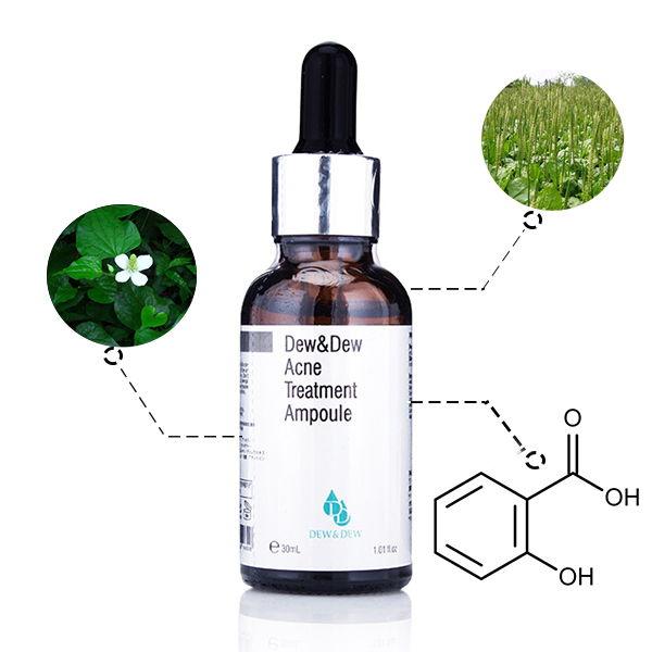 Dew&dew - Thuốc trị mụn serum tốt nhất hiện nay