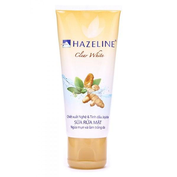Hazeline Clear White - Sửa rửa mặt nghệ tốt nhất hiện nay