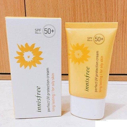 INNISFREE - Kem chống nắng cho da khô tốt nhất hiện nay