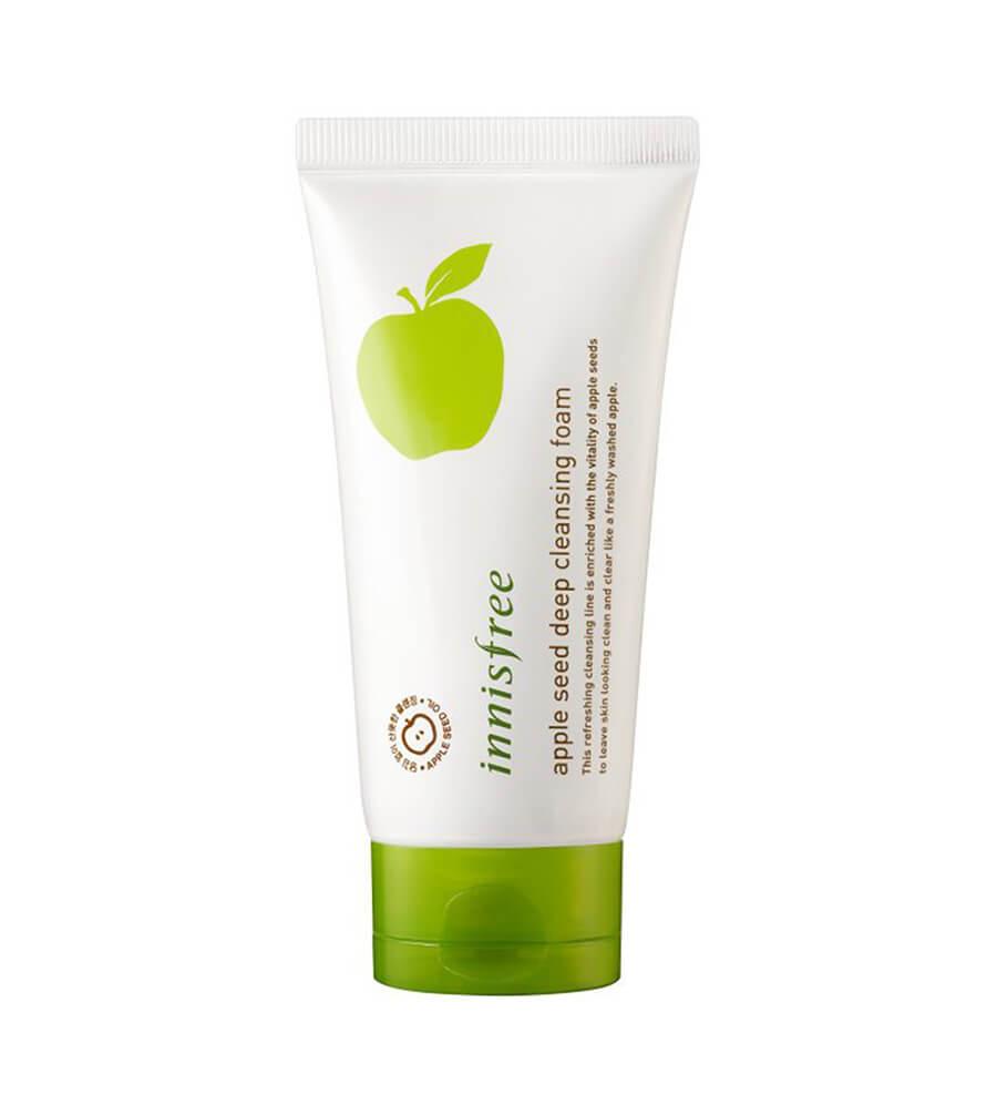 Innisfree Apple- Sửa rửa mặt se khít lỗ chân lông tốt nhất hiện nay