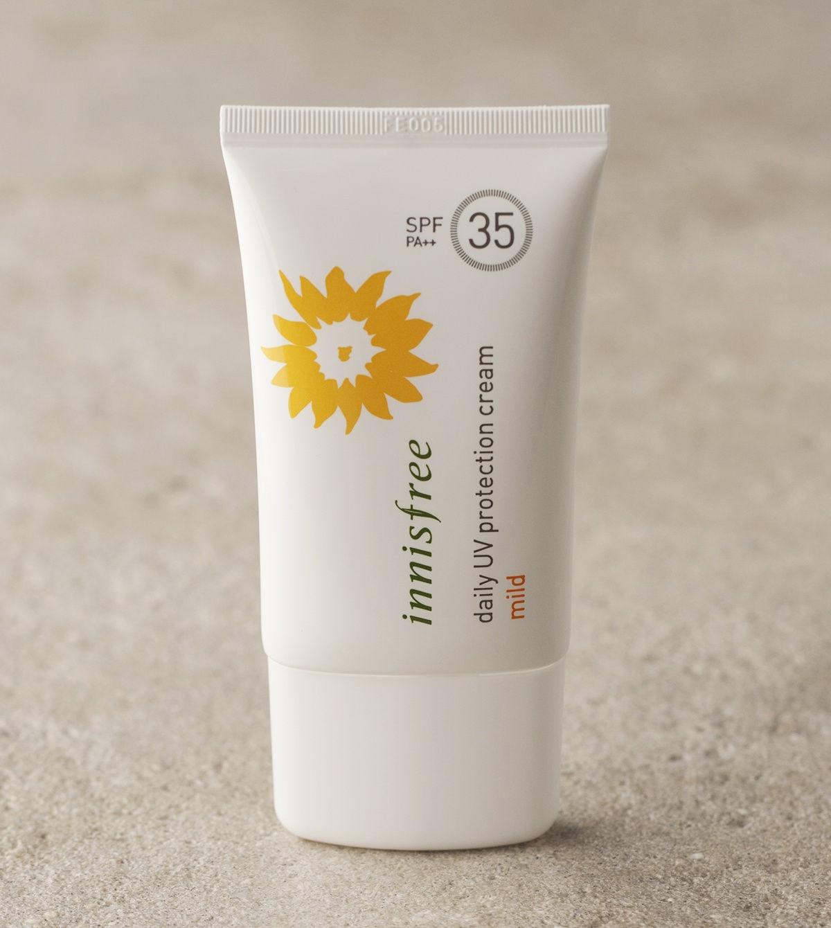 Innisfree Protection - Kem chống nắng cho da dầu tốt nhất hiện nay