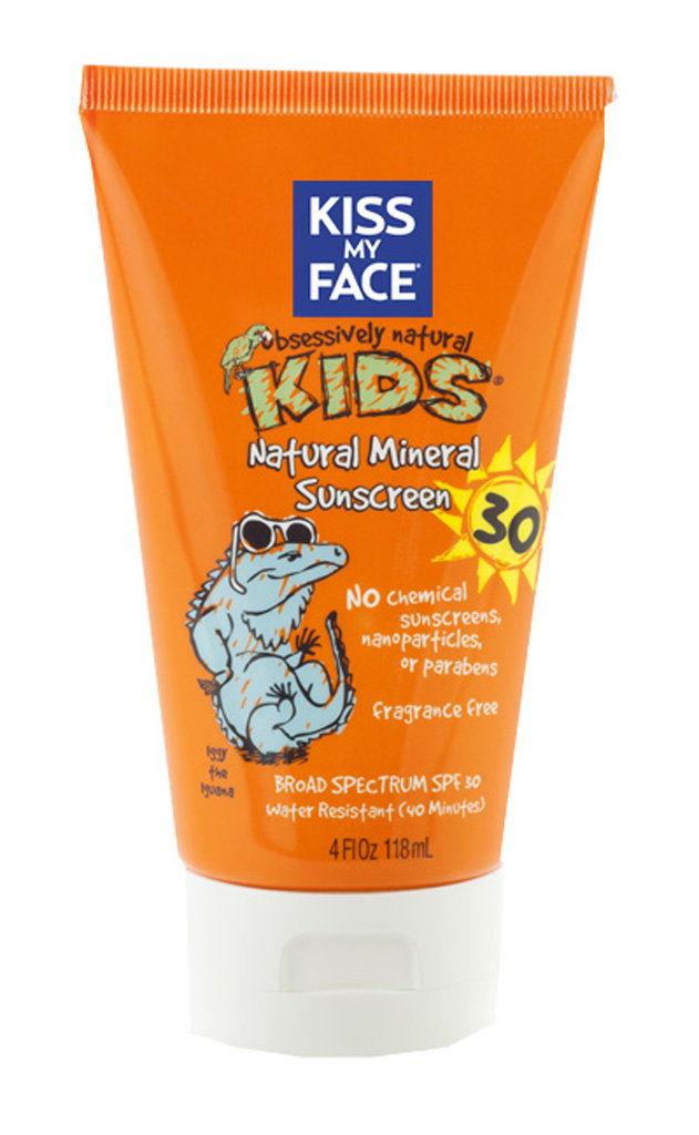 Kiss My Face - Kem chống nắng cho bé an toàn nhất hiện nay