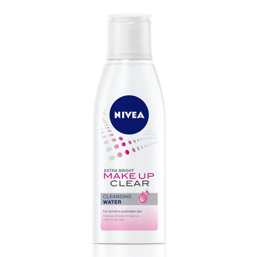 Nước tẩy trang Nivea Extra Bright Make Up Clear Cleansing Water