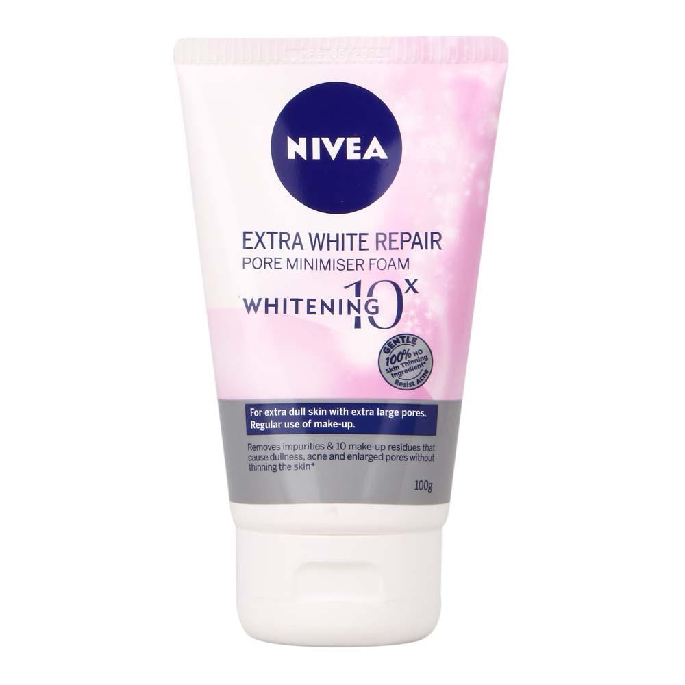 Nivea Extra White Pore Minimiser Mud Foam - Sửa rửa mặt trắng da tốt nhất hiện nay