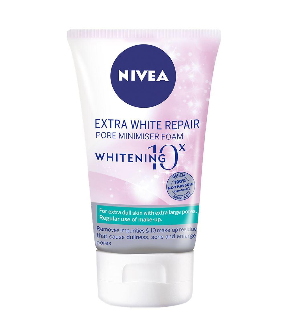 Nivea White Pore Minimiser Foam - Sửa rửa mặt Nivea tốt nhất hiện nay