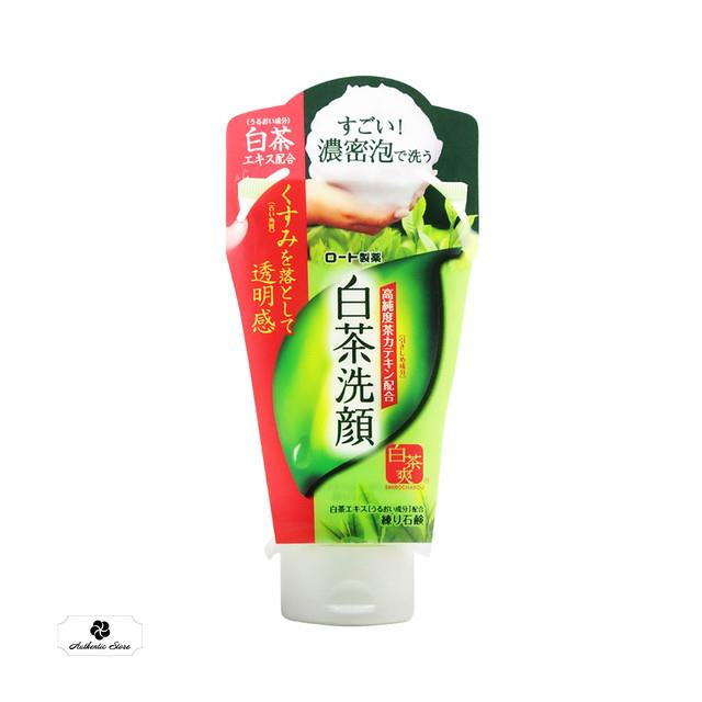 Rohto Shirochasou - Sửa rửa mặt tạo bọt tốt nhất hiện nay