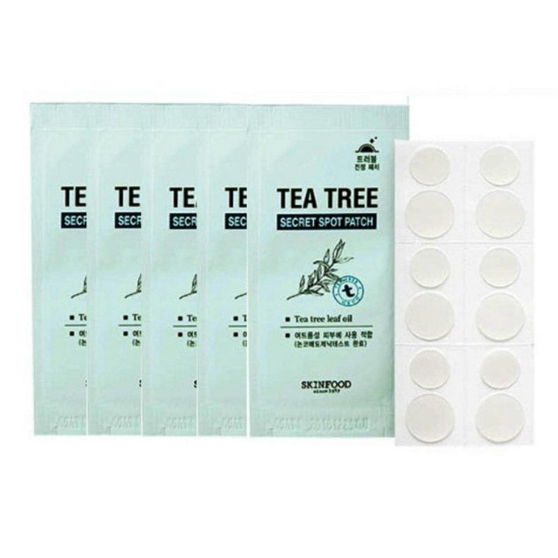Tea Tree - Miếng dán mụn hiệu quả nhất hiện nay