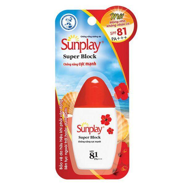 Sunplay - Kem chống nắng cho da mặt tốt nhất hiện nay