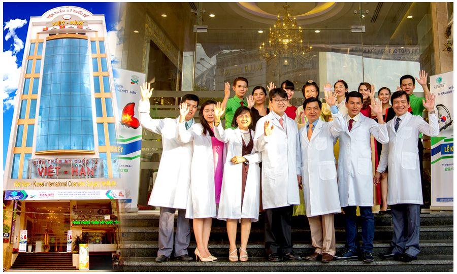 TMV Việt Hàn - Địa chỉ thẩm mỹ uy tín tại Quận 11