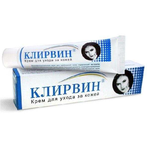 Klirvin- thuốc trị sẹo hiệu quả và tốt cho da