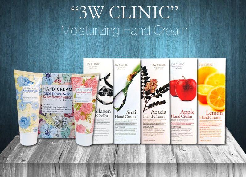 3W Clinic - Kem dưỡng da tay hàn quốc tốt nhất