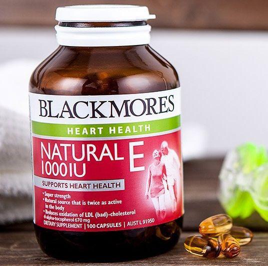 Blackmores Natural - Kem dưỡng da vitamin E tốt nhất hiện nay
