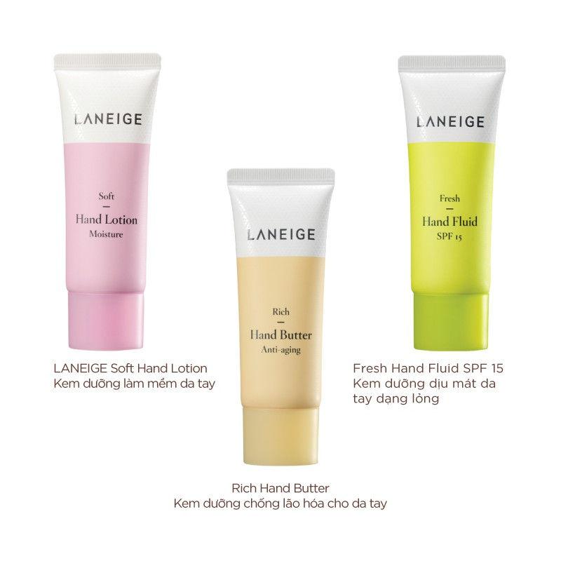 Laneige Rich - Kem dưỡng da tay tốt nhất hiện nay
