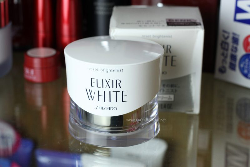 Shiseido Elixir White - Kem dưỡng da ban đêm nhật bản tốt nhất