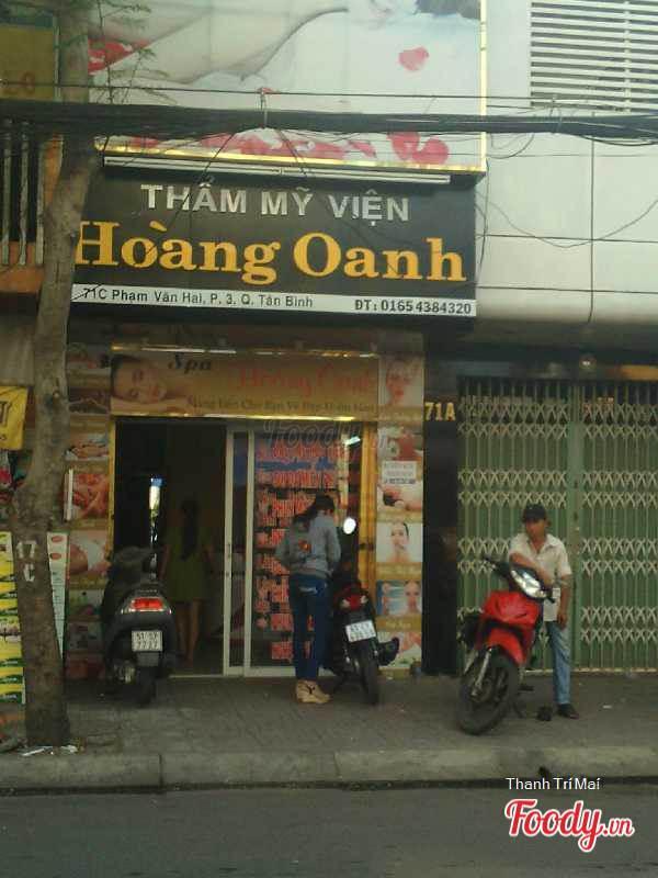 Thẩm mỹ viện Hoàng Oanh - Địa chỉ thẩm mỹ uy tín tại Tân Phú