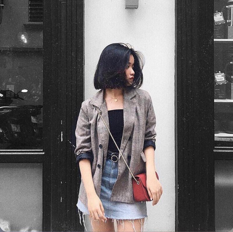 Váy jean tại Annie.Store