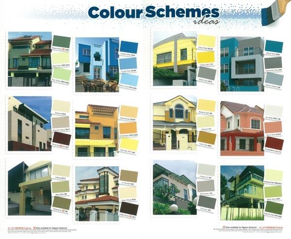 Mẫu catalogue xây dựng nhà ở với những gợi ý về màu sơn đẹp