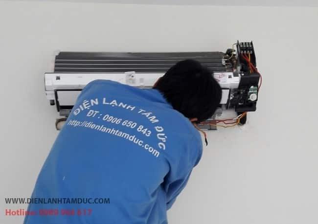 Dịch vụ vệ sinh máy lạnh uy tín quận 8-Tâm Đức