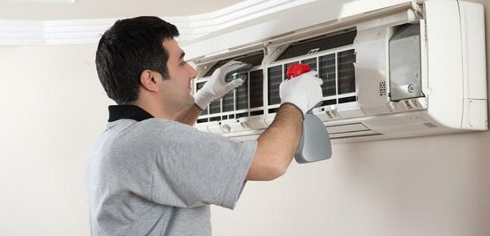 sửa chữa, vệ sinh máy lạnh bị bụi bám