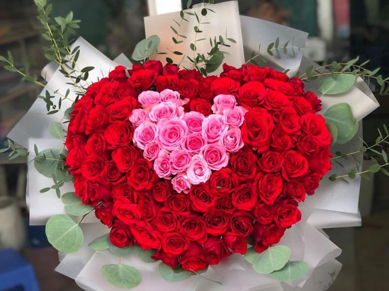 Hoa bó dành cho người yêu thương